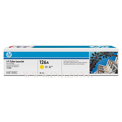 HP CE312A [126A] Yellow Toner (1K)